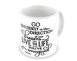 Motivational Quote Mugs for College Events