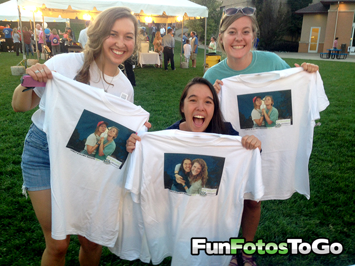 Fun Fotos To Go Make Foto TShirts for College Events