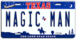 Full Color License Plates